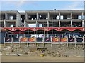 SZ6084 : Demolition of Wight City apartments and leisure complex by Paul Coueslant