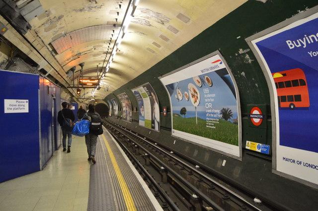 Bakerloo Line, Paddington Underground Station