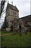 ST9383 : The tower of Rodbourne church by Philip Halling