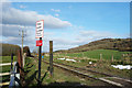 SP7500 : Crossing at the end of Keens Lane by Des Blenkinsopp