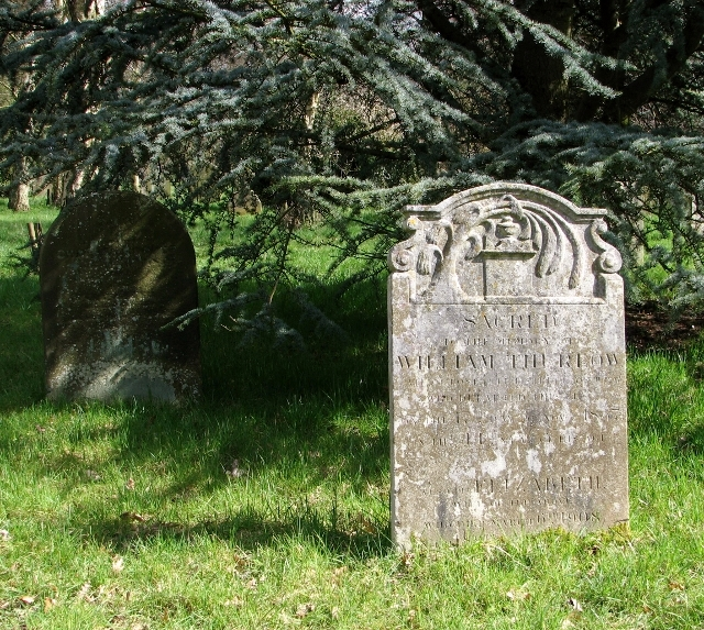 Graves in section 5