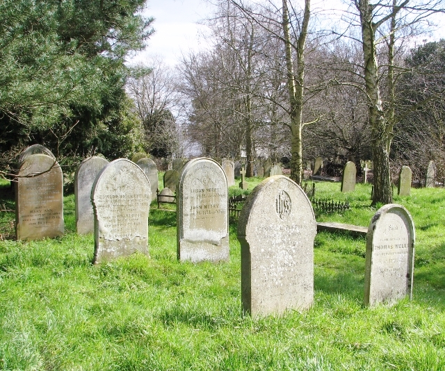 Old gravestones in Section 5