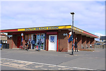 NS3230 : South Beach Kiosk, Troon by Billy McCrorie