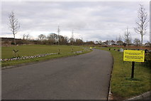 NS3528 : Monkton & Prestwick New Cemetery by Billy McCrorie