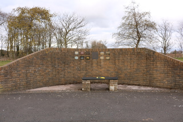 Woodland Burial Plaque Wall