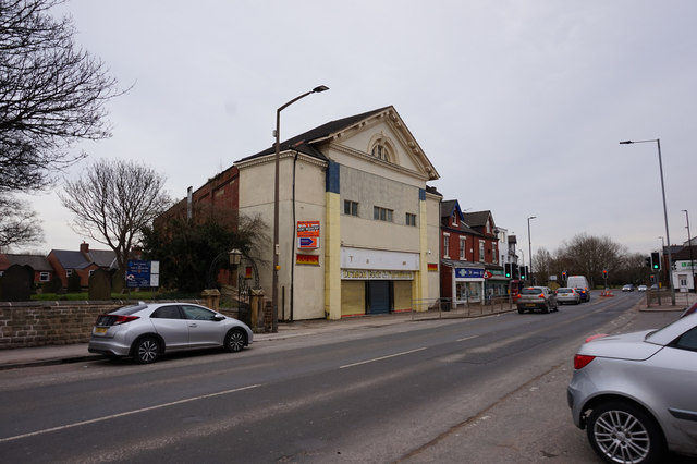 The former Picture House, High Street, Askern