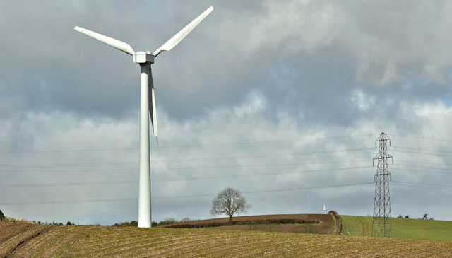 Wind turbine, Ballyrogan