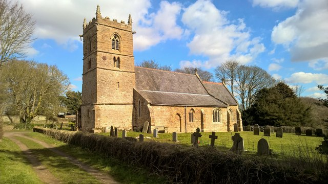 St Peter's church at Normanby le Wold
