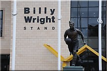SO9199 : Statue of Billy Wright by Philip Halling
