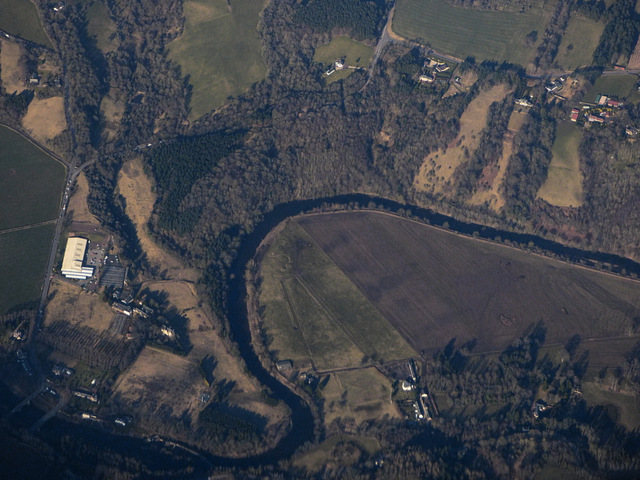 Garrion Farm from the air
