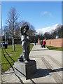 NZ2129 : Arthur Stanley Jefferson statue by Graham Hogg
