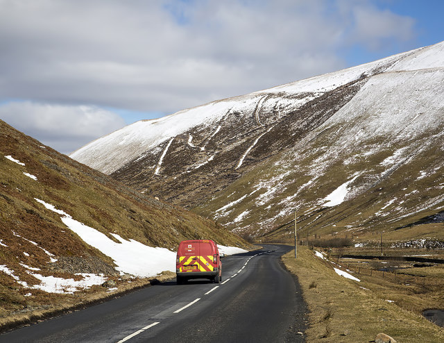 The A708 at Muchra