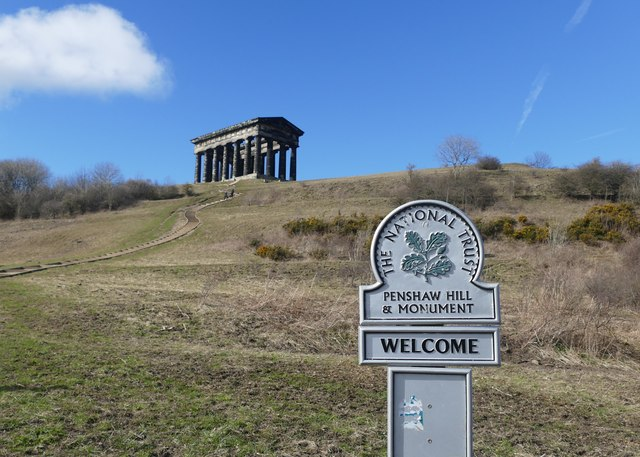 Penshaw Hill and Monument