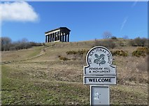 NZ3354 : Penshaw Hill and Monument by Graham Hogg
