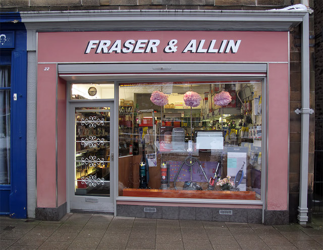 Fraser and Allin, Galashiels