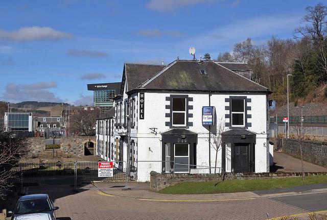 The Abbotsford Arms Hotel, Galashiels