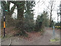 TQ5162 : Footpath near Shoreham by Malc McDonald