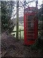 SJ2406 : Leighton: the telephone box by Chris Downer