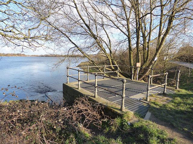 Ardsley Reservoir: principal inlet (1)