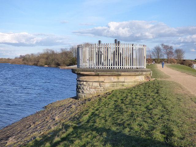 Ardsley Reservoir: valve tower