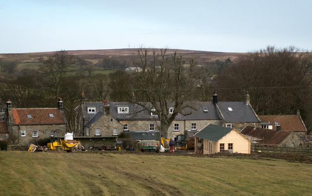 Houses at Ainthorpe