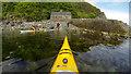 NM5421 : Landing at Carsaig Bay by Andy Waddington