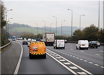 TQ2652 : Joining the M25 at J8 by N Chadwick