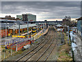 SJ7687 : Altrincham Transport Interchange by David Dixon