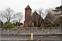 SX9688 : Holy Cross Church by N Chadwick