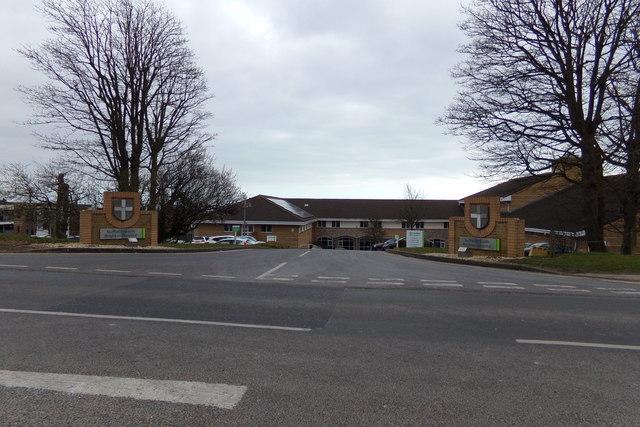 Entrance to Nuffield Health Brighton Hospital