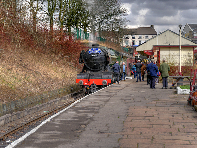 The Flying Scotsman at Bury
