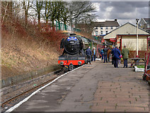 SD8010 : The Flying Scotsman at Bury by David Dixon