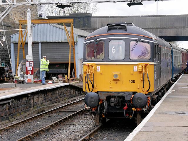 East Lancashire Railway, Captain Bill Smith RNR at Bury
