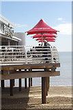 TM3034 : Boardwalk Café Bar, Felixstowe Pier by Stephen McKay