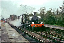 TQ4023 : LSWR 4-4-2T 488 at Sheffield Park, 1974 by Robin Webster