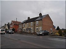TL8783 : Houses on Norwich Road, Thetford by David Howard