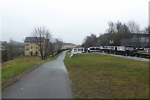 SE2833 : Towpath at Spring Garden Lock by DS Pugh