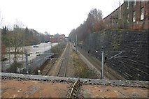SE2733 : Railway from Canal Road by DS Pugh