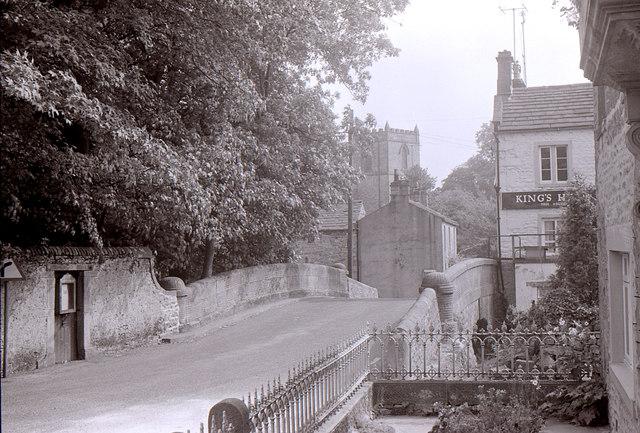 Bridge over the Kettlewell Beck
