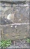 NY2436 : Ordnance Survey Cut Mark by Adrian Dust