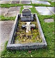 SJ9497 : The grave of Kathleen Esther Oliver by Gerald England