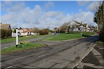 TQ8115 : Moor Lane and Moor Road by Oast House Archive