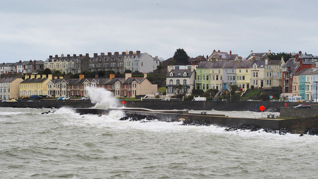 High tide, Bangor