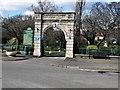 NO3801 : Entrance Gates, Letham Glen, Leven by G Laird
