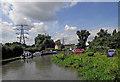 SP3683 : Oxford Canal near Hawkesbury in Warwickshire by Roger  Kidd