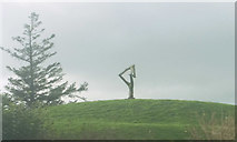 SW9571 : Sculpture, Hawksfield by Derek Harper
