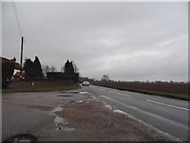 TL9896 : Bray's Lane at the corner of Bell Lane by David Howard