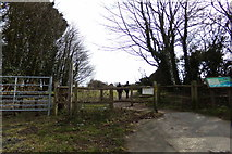 TQ3508 : Footpath to Woodingdean by Adrian Cable