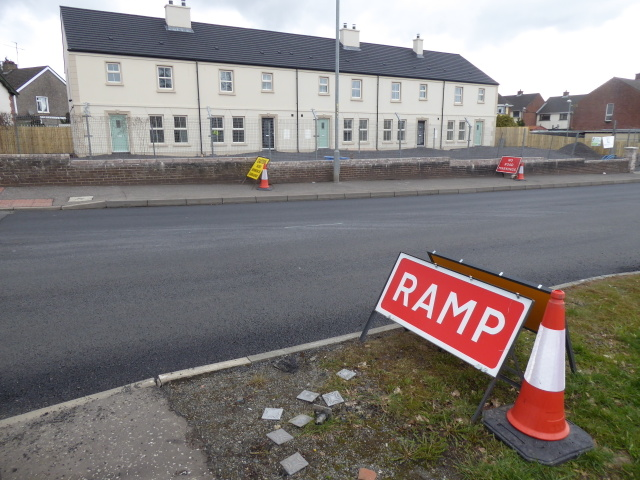 Road works, Hospital Road, Omagh - 16