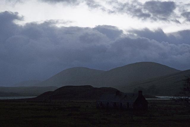 Inver cottage by Loch Gowan